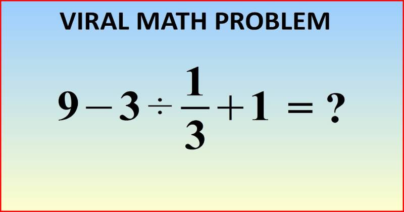 Maths quiz