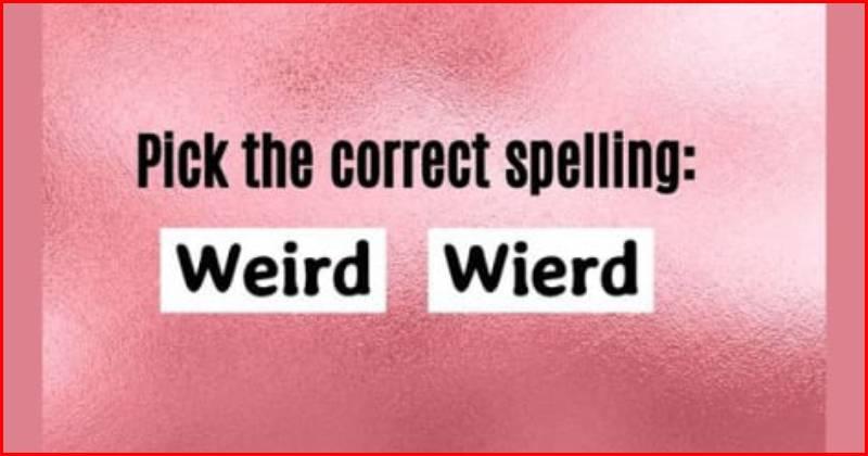 Spell test